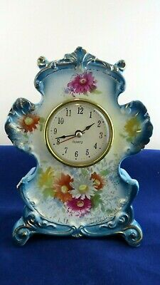 Antique Ansonia Royal Bonn Germany Anchor Porcelain Vintage Clock 1755 7""