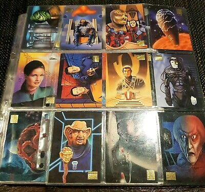 SkyBox Star Trek Master Series II (1994) cards -COMPLETE w/chase crds