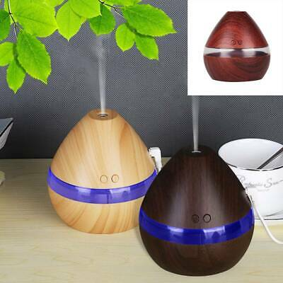 LED Colour Ultrasonic Aroma Essential Oil Diffuser Air Purifier Humidifier UK