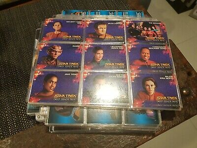 Star Trek Deep Space Nine Collectors Cards - Skybox 107 Card Set DS9