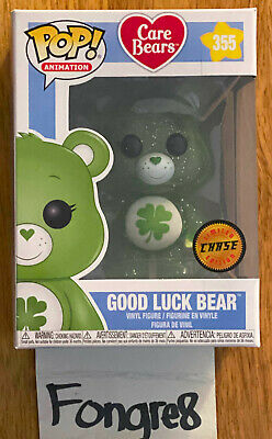Funko Pop Animation Care Bears Good Luck Bear 355 Chase Brand New