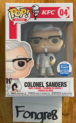 Funko Pop Ad Icons Kentucky Fried Chicken KFC Colonel Sanders 04 Funko Exclusive