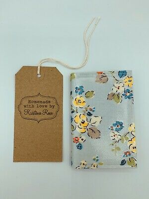 CATH KIDSTON 2020 Pocket diary HANDMADE in WOODLAND ROSE OILCLOTH!!