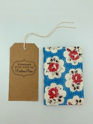 CATH KIDSTON 2020 Pocket diary HANDMADE in PROVENCE ROSE BLUE OILCLOTH!!
