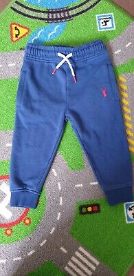 NEXT Boys Blue Jogging Bottoms Age 2-3 Years