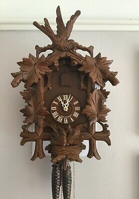 Regula German Cuckoo Clock  ~ cuckoos in the Nest ~ Working Order