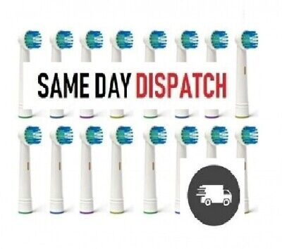 12 Oral 3D White Compatible Electric Toothbrush Heads Replacement Brush Braun B
