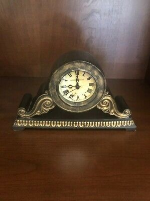 Beautiful Small Antique Old World Charm Decorative Mantle Clock