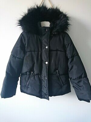 F&F girl winter padded jacket coat 6-7 years excellent condition