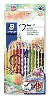 Staedtler Colouring Pencil triangular shape Noris 12pk