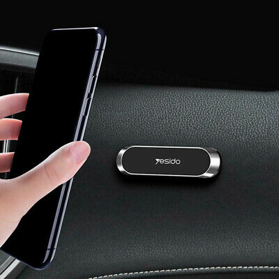 Magnetic Car Phone Holder Stand Strip Shape For iPhone Magnet Mount Accessories