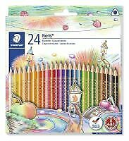 Staedtler Colouring Pencil triangular shape Noris 24pk