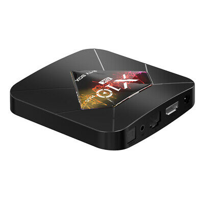 R-TV BOX X10 PLUS Boîte Smart TV Android 9.0 6K 4Go / 32Go HD multimédia Q4Y5