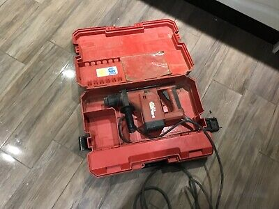 HILTI DRILL TE 14  110 v IN WORKING ORDER