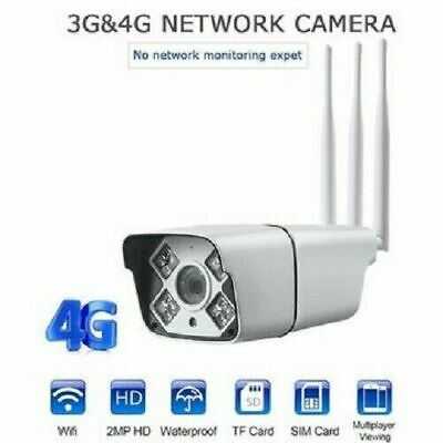 Telecamera Ip Cam 4G 3G Gsm Wifi Cloud 2 Mpx Wireless Slot Sd Audio Camera Sched