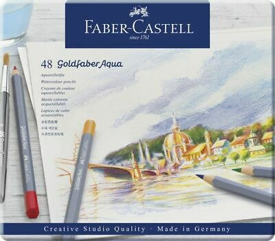 Faber-Castell Aquarellstift Goldfaber Aqua 48er Metalletui