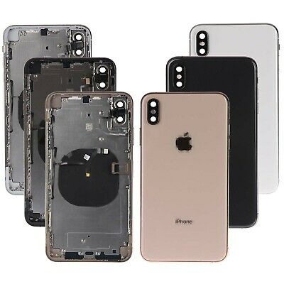 NEW Replacement Back Glass Housing Cover Frame Assembly For iPhone XS Max W/LOGO
