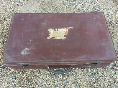 Antique Suitcase Travel Case Old Luggage