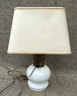 Antique Lamp Office Lampshade Day Rectangular Art Deco Picador French Antique