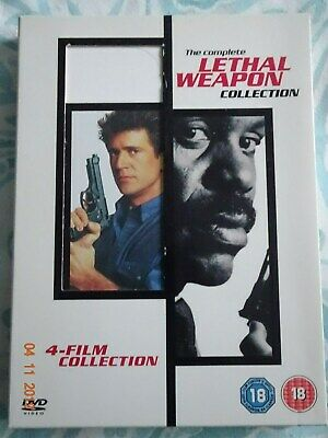 The Complete Lethal Weapon Collection 4 Films Boxset
