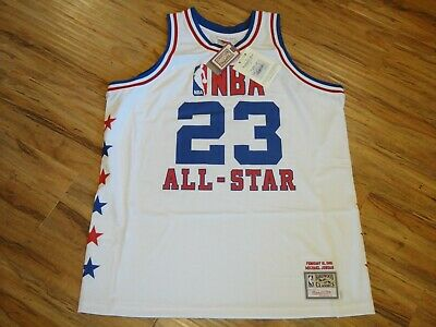 Michael Jordan #23 Mitchell & Ness 1985 All-Star Rookie Throwback Jersey 52 2Xl