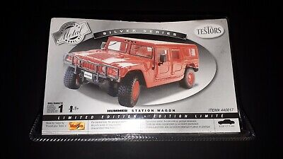 Testors Silver Series Metal Hummer Station Wagon Die Cast 1:24 scale Maisto NEW