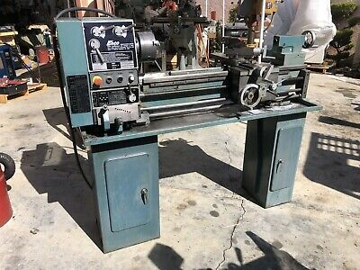Awesome Metal Lathe 12X36 Enco Model 510 2583 With Heavy Stand Caraccident5 Cool Chair Designs And Ideas Caraccident5Info