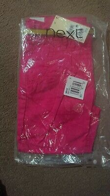 Girls Denim Trousers Next 7 Brand New