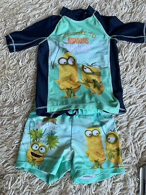 Minions Swim Suit H & M Age 4-6 Yrs