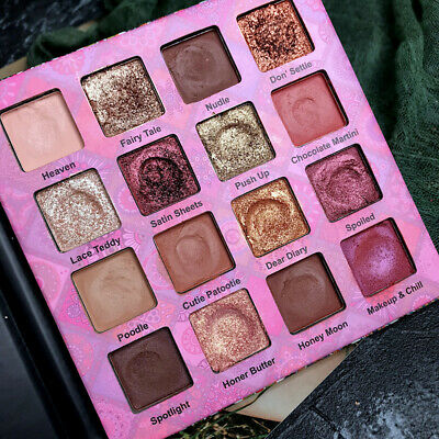 Eye Shadow Matte Pearlescent  Shimmer Natural Pigmented Eyeshadow Palette