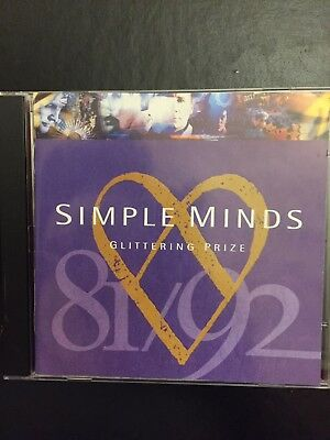 Simple Minds Glittering Prize 81/92 Used 16 Track Greatest Hits Cd Pop Rock 80s