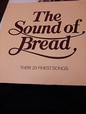 "Bread ‎– 'The Sound Of Bread' 12"" vinyl album LP. 1977 UK A1/B1. EX/EX+"