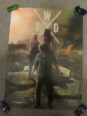THE WALKING DEAD 18 x 24 Poster AMC Daryl Michonne Carol TWD 2019 NYCC Season 10
