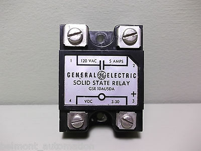 General Electric G.E. GSR-10AUSDA Solid State Relay - USED