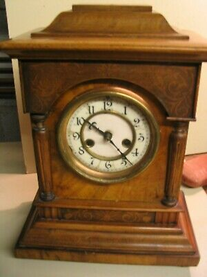 Waterbury mantel/bracket clock requires minor restoration