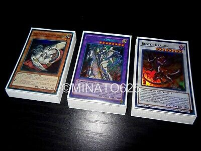 Yugioh Complete Buster Blader Deck! Buster Dragon Buster Whelp Saryuja Hot Red