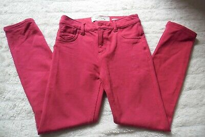 Fat Face Designer Girls Pink Skinny Jeans Style Trousers Age 8 Years Must L@@K!!