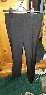 New Look Girls black trousers age 10 BNWT