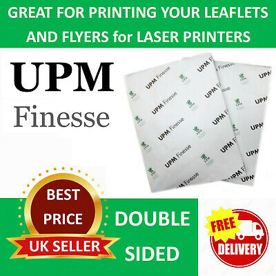 104GSM or 118GSM Pack of 50 A4 Premium Delicate Silk Smooth Paper