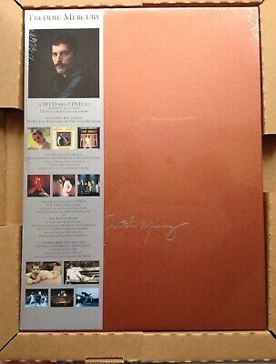 Freddie Mercury: The Solo Collection Box Set Unopened BRAND NEW &VERY RARE PROMO