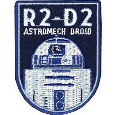 Star Wars R2-D2 Astromech Droid Embroidered Patch