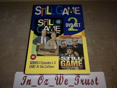 Chewin The Fat - Still Game/ Series 1 & Live at the Cottiers Glasgow (DVD, 2001)