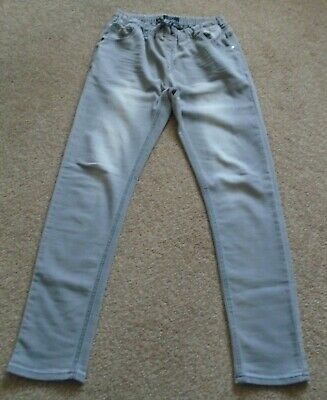 Next grey denim jeans jeggings trousers age 16
