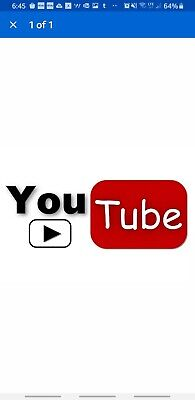 youtube action, I want to watch your videos.