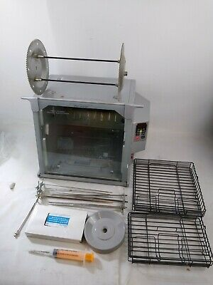 RONCO SHOWTIME Rotisserie BBQ Oven 5000 Full Size PLATINUM Digital Tested. U
