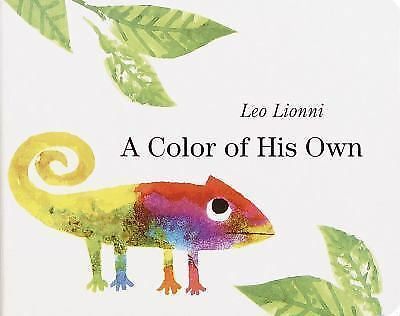 A Color of His Own Boardbook By Leo Lionni