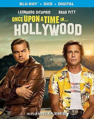 Once Upon A Time In Hollywood | Blu-Ray (Region A) | Dvd (Region 1) |Ships 12/10