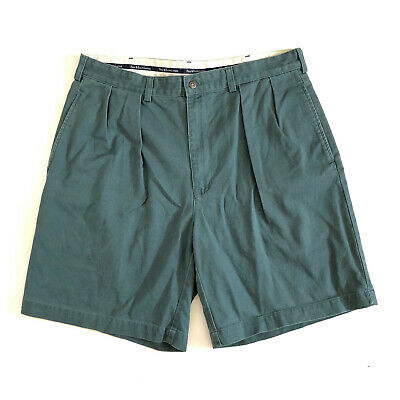 POLO RALPH LAUREN!!! Vintage 90s 'Polo - Ralph Lauren' green cotton chino shorts