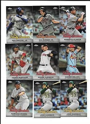 2019 Topps Chrome Update Family Business Refrac PICK FROM LIST COMPLETE YOUR SET