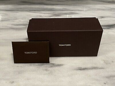 Tom Ford Optical Sunglasses Brown Authentic Gift Box Empty BOX ONLY No Glasses